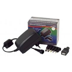 Universal-Netzteil 3-12V 2,25A max. - inkl. 8 DC-Adaptern - 27,0 Wmax.