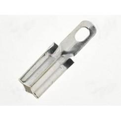 100x Steckschuh 1,3mm Messing