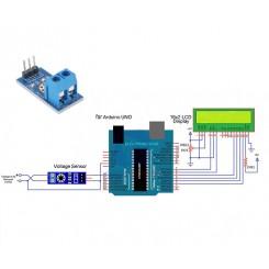 Arduino-Voltagesensor
