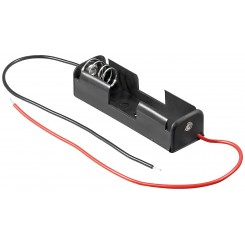 """Batteriehalter , 1x Mignon """"AA"""" - mit Anschlusskabel"""