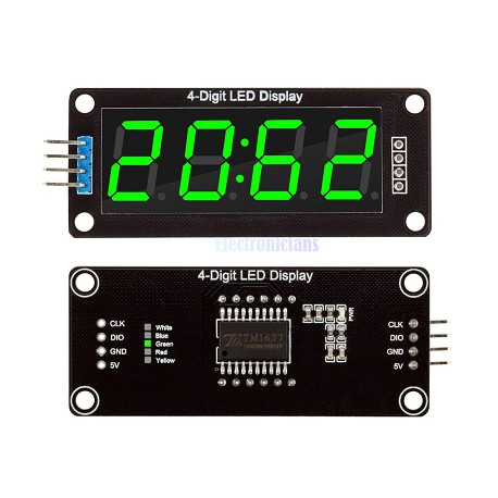 "4-Stellige LED 7 Segm. Anzeige 0,56"""