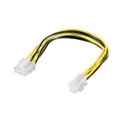 8-pin Stecker zu 4-pin P4-Buchse