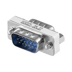 Gender Changer Mini HD D-Sub Stecker auf D-Sub Stecker 15 polig