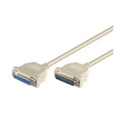 Datenkabel High Quality D-Sub Stecker 25 polig auf D-Sub Buchse 25 polig 1,8 m