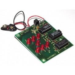 B1075 Elektronischer Würfel mit LED