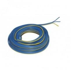 Kupferlitze Kunststoff isoliert 3 x 0,14 mm² 5 m Ring Märklin blau/gelb/blau