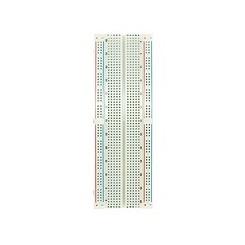 Laborsteckboard 200/630 Kontakte weiss