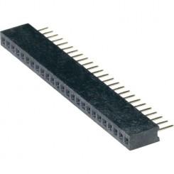 BL10/1,27 Buchsenleiste 10pol. RM1,27mm