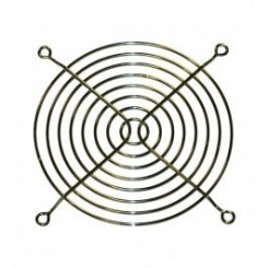 Schutzgitter 8 Ringe 119 x 119 mm Metall blank