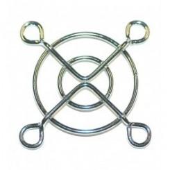 Schutzgitter 2 Ringe 40 x 40 mm Metall blank