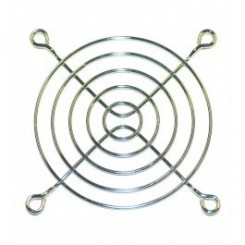 Schutzgitter 5 Ringe 80 x 80 mm Metall blank