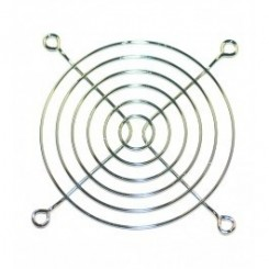 Schutzgitter 6 Ringe 92 x 92 mm Metall blank