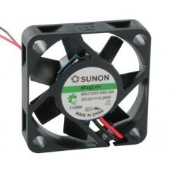 SUNON Lüfter Vapo-Lager 5 Vdc 40 x 40 x 10 mm mit Litze AWG28 schwarz