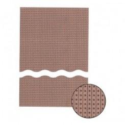 Streifenrasterplatte 500 x 100 mm Hartpapier Raster 2,54 mm