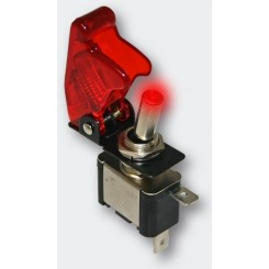 Kill-Switch mit rote LED-Status-Anzeige und Roter Kappe