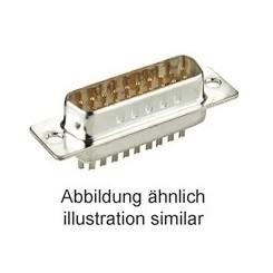 D-Sub-Stiftleiste 25 polig Lötpins verzinnt