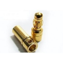 Goldstecker 3,5mm Paar