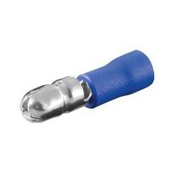 Rundstecker - blau 100 Stk.