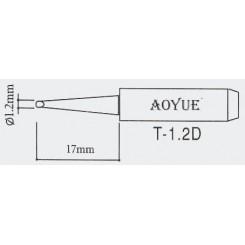 AOYUE T-1.2D Ersatz Lötspitze Ø1.2x0.7mm