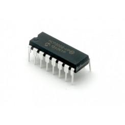 MCP3008 I/P A/D-Wandler, seriell, 10Bit, 8-Kanal