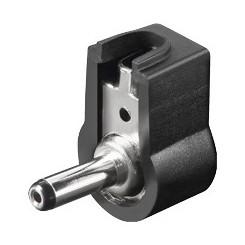DC-Stecker, abgewinkelt 1,3 mm x 3,45 mm