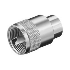 UHF-Stecker für max. 10 mm Kabel - RG 213/U