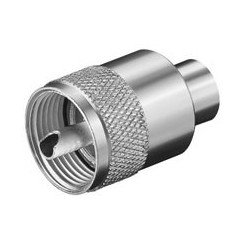 UHF-Stecker für max. 5,3 mm Kabel - RG 58/U