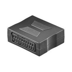 Scart Adapter - Scartbuchse (21-Pin) zu Scartbuchse (21-Pin)