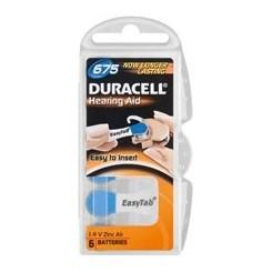 V 675 6 BL PR44/DA675 Duracell