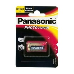 Panasonic Lithium 3 V 1,45Ah Fotobatterie 17,1x34,5 mm