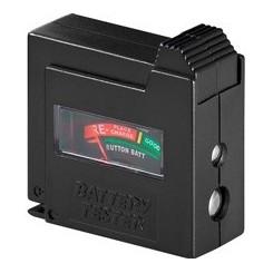 Batterietester für Standardzellen und Knopfzellen