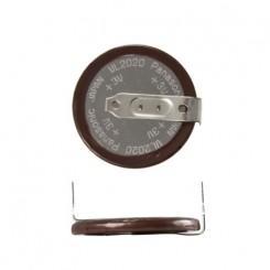 VL2020/HFN Knopfzellen Akku 3V, 20mAh