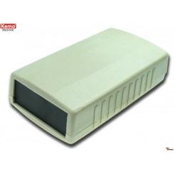 G110 Gehäuse mit Frontplatten Grau (L x B x H) ca. 90 x 50 x 25 mm