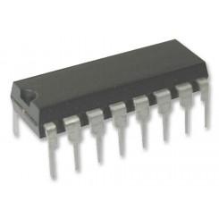 MCP3208 I/P A/D-Wandler, seriell, 10Bit, 8-Kanal