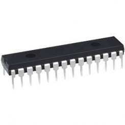ATMEGA168-20PU MC 8bit 2,7V 16kB Flash 20MHz  DIP28