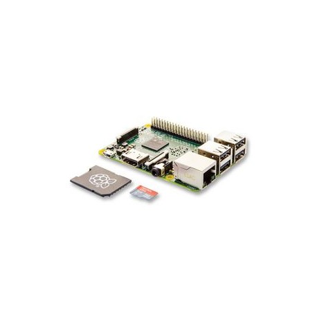 RASPBERRY-PI 2 MODEL B , 1GB RAM + 8GB NOOBS MICROSD
