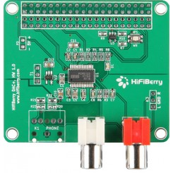 Raspberry Pi HiFiBerry DAC+, Soundmodul für Raspberry Pi B+