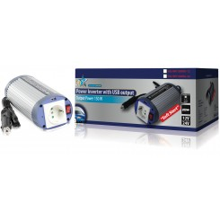 Wechselrichter + USB-Port 24V 230V 150W