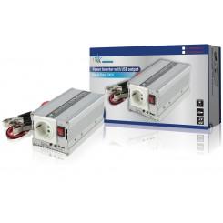 Wechselrichter + USB-Port 24V 230V 300W
