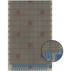 Prüfungsplatine 100 x 160 mm 1,5 mm Hartpapier 35 µm Kupferauflage