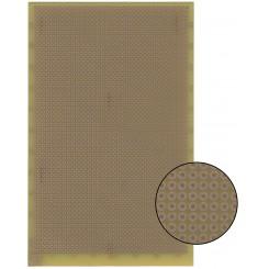 Lochraster Laborkarte Epoxyd 160 x 100 mm 1,5 mm 35 µm Kupferauflage