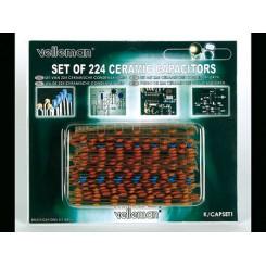 Keramikkondensator-Set 224 teilig von Velleman