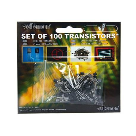 Transistoren-Set K/TRANS1, 100 teilig von Velleman