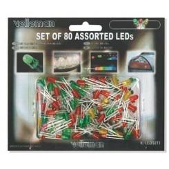 LED-Sortiment 80 teilig von Velleman