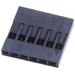 Crimpgehäuse 1x7p RM 2,54 10er-Pack